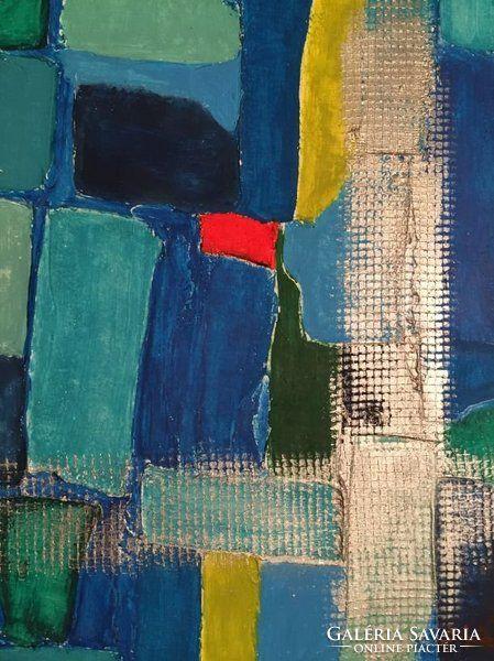 Kortárs absztrakt festmény a művésztől