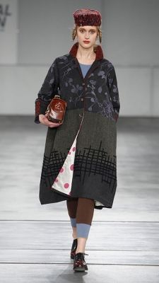 TMcollection love the fabrics on the coat. If you have to do somber dark neutrals, this is quite a nice option