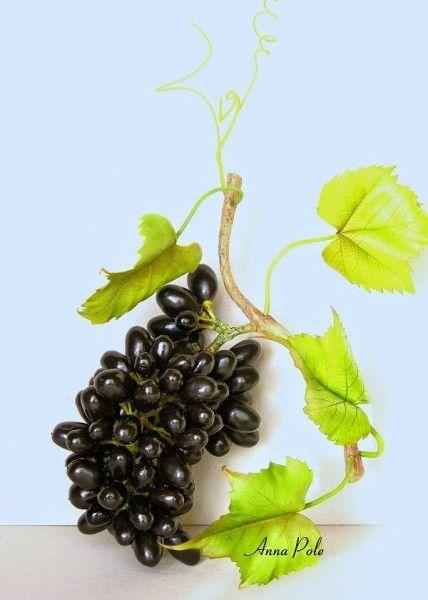 мастер класс по изготовлению грозди винограда