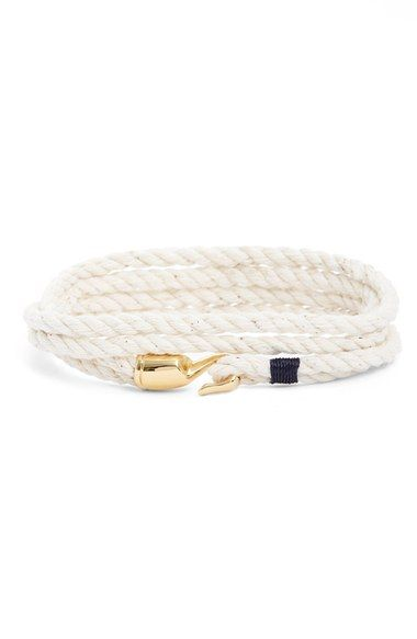 Miansai 'Trice' Wrap Rope Bracelet available at #Nordstrom