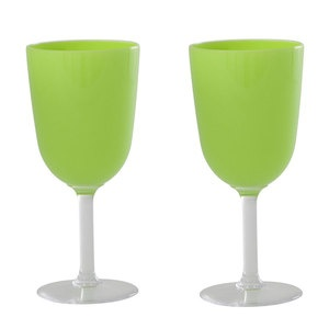 Wine Glass Large Green 2 Pack now featured on Fab.