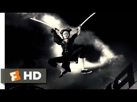 Sin City (6/12) Movie CLIP - Miho vs. Jackie Boy (2005) HD - YouTube