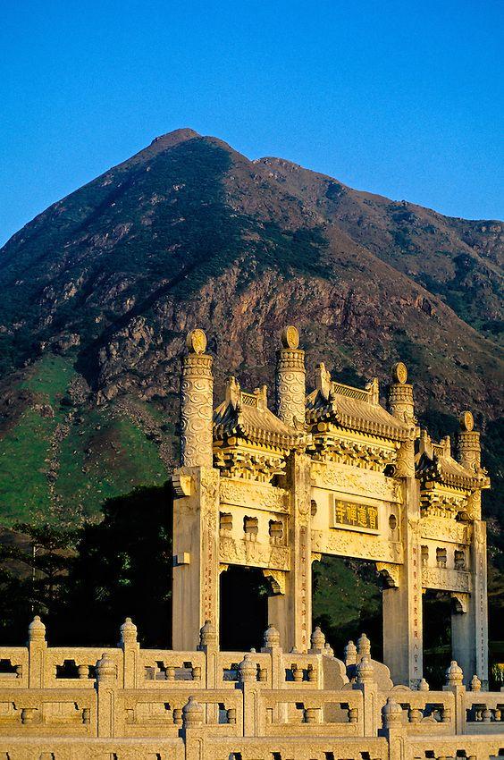 Po Lin Monastery, Lantau Island, Hong Kong, China | Blaine Harrington III