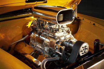 Custom car engine