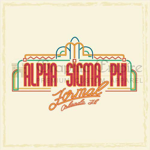 Alpha Sigma Phi | Formal | Graphic Empire | Universal