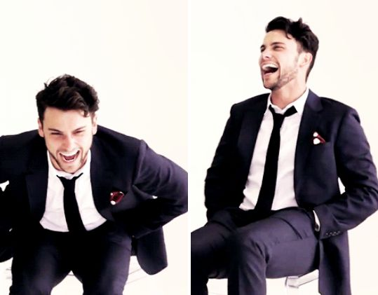 Love the way he laughs