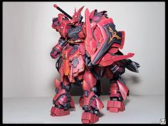 MSN-04S Scalebane Sazabi Custom Build - Gundam Kits Collection News and Reviews