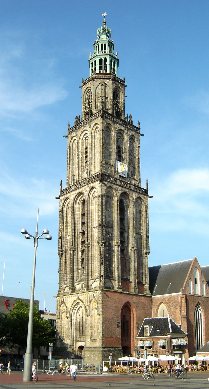 Martinitoren in Groningen The Netherlands - I have this exact photo that I took myself