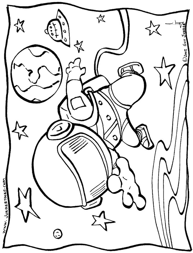 space coloring page space coloring page 2669