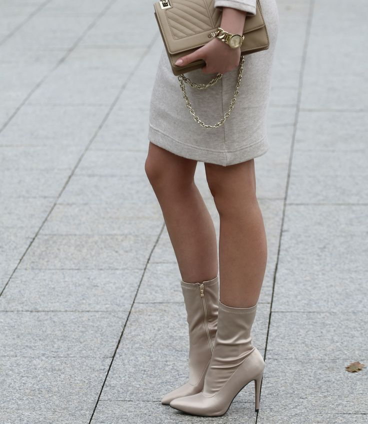 #outfit #blogger #boots #skirt #streetstyle