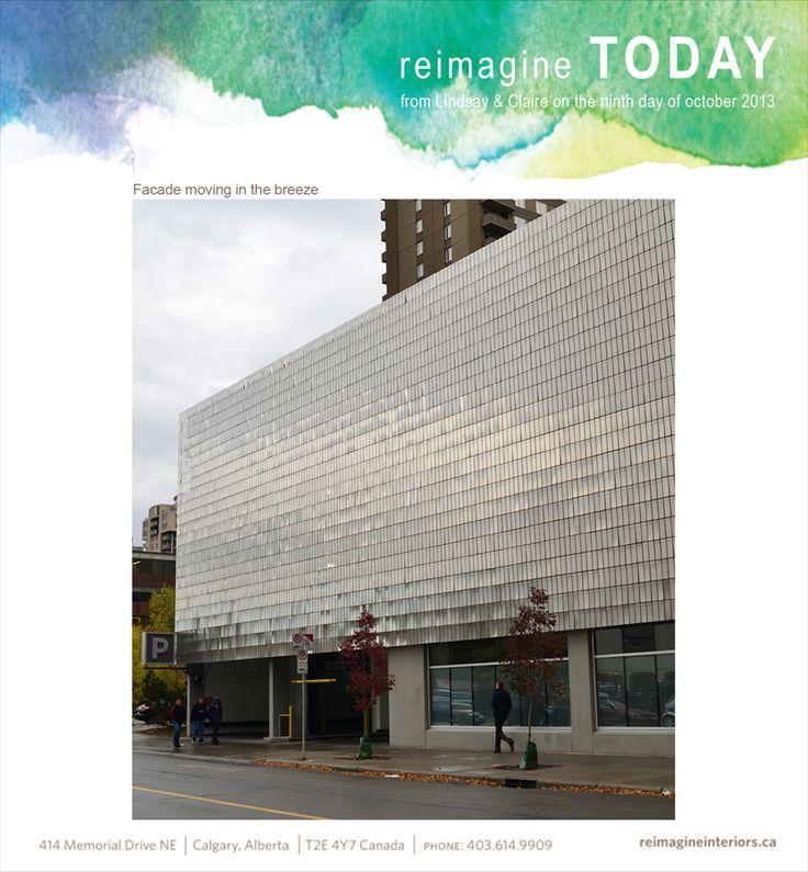 Beautiful moving facade