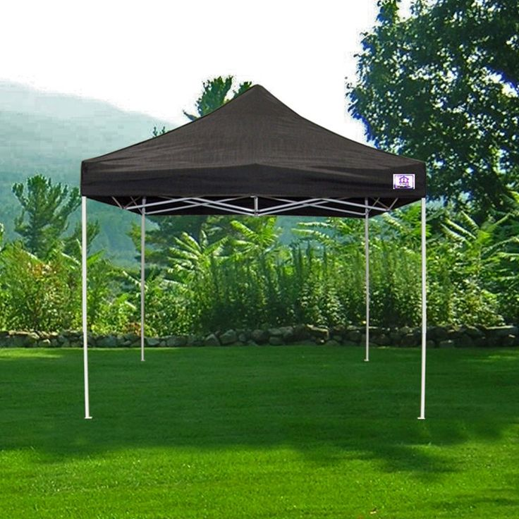 Impact Canopy TL 10x10 ft. Pop Up Canopy Tent Instant Beach Canopy Tent Gazebo With Wheeled Roller Bag