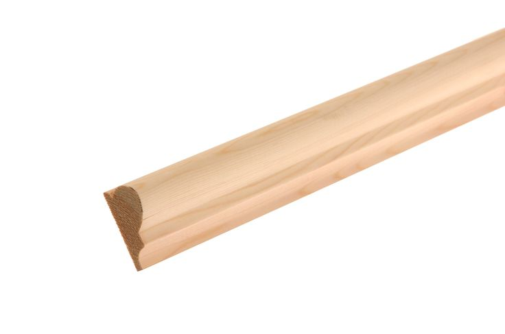 Smooth Picture Rail Picture Rail (T)20mm (W)44mm (L)2400mm Pack, Pack of 4 for £17 or £4.84 for one length at B&Q