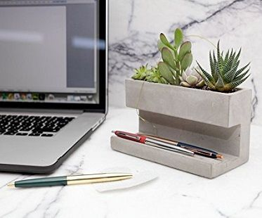 Desktop planter and pen holder! (Click for price)