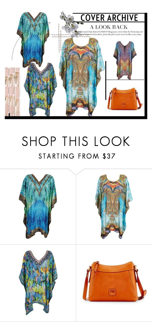 """""""Boho Swimsuit Cover Up Dress"""" by era-chandok ❤ liked on Polyvore featuring Dooney & Bourke"""