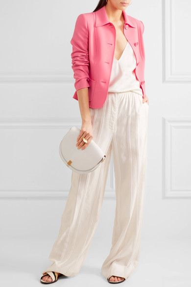Michael Kors Collection - Stretch-wool Jacket - Pink - US12