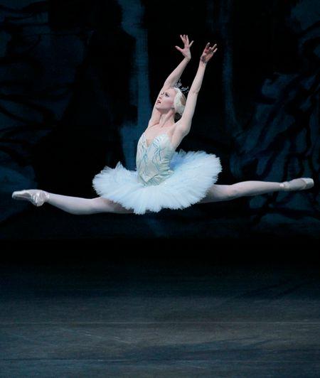 Teresa Reichlen as Odette in Peter Martin's Swan Lake. Photo by Paul Kolnik