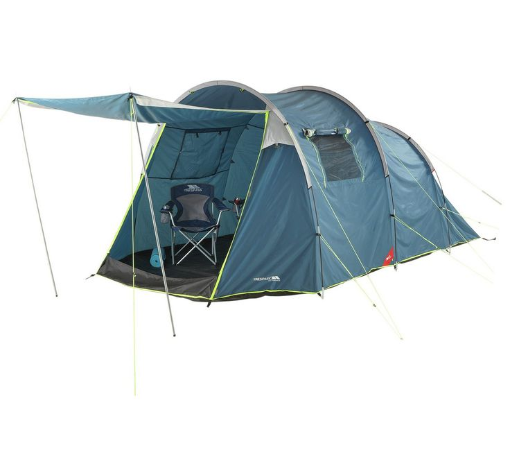 Buy Trespass 4 Man Tent with Carpet at Argos.co.uk - Your Online Shop for Camping and caravanning, Clearance sports and leisure, Sports and leisure.