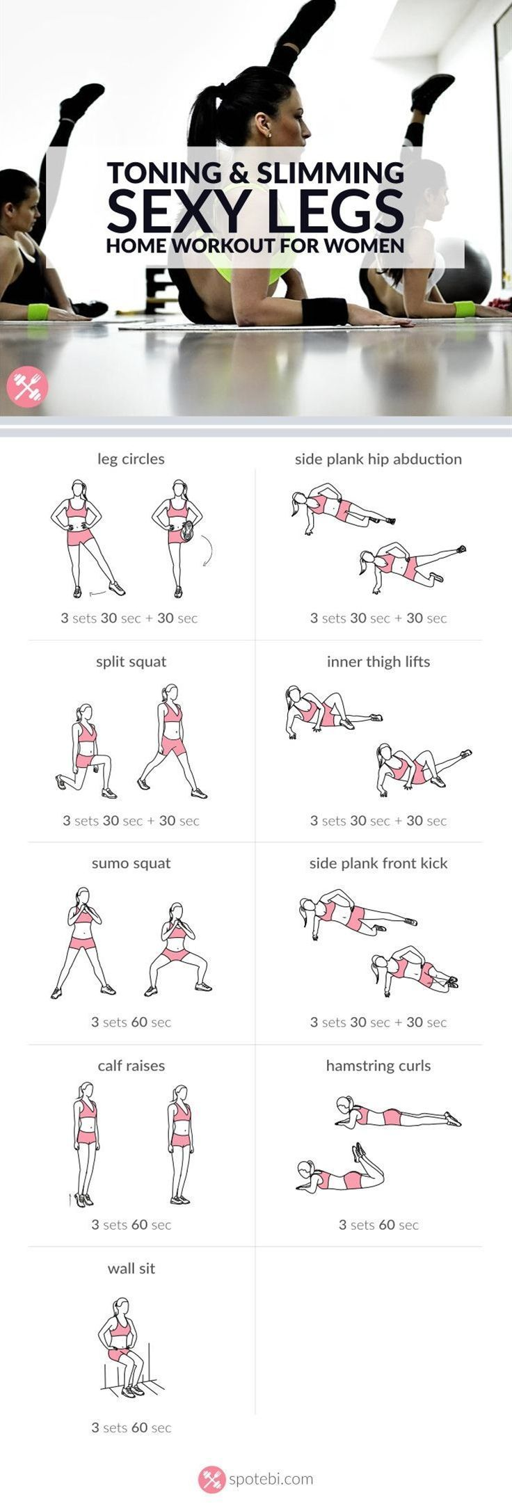 Get lean and strong with this sexy legs workout.