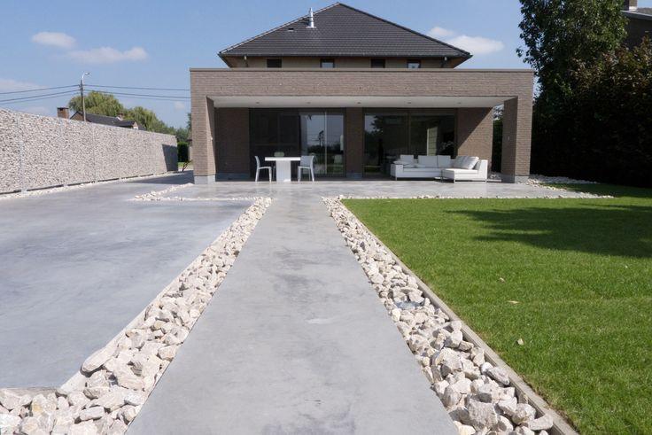 terras gepolierde beton combinatie google zoeken tuin. Black Bedroom Furniture Sets. Home Design Ideas