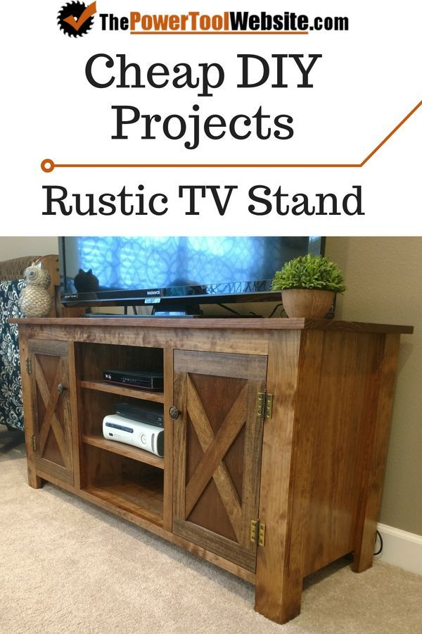 Woodwork Resources Rustic Tv Stand Cheap Woodworking Projects