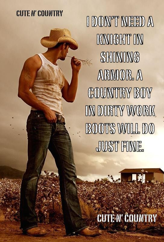 #cowboy #country #countryboys  For more Cute n' Country visit: www.cutencountry.com and www.facebook.com/cuteandcountry