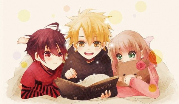 Anime Characters Child Reader : Amnesia childhood friends forever anime pictures