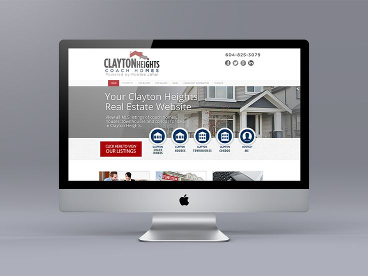 New targeted website for Clayton Heights area real estate specialist Robbie Johal. Uses the Ubertor CMS.