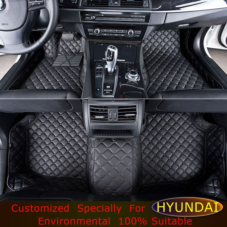 Floor mats For Hyundai Elantra Azera Mistra Coupe LAVIDA Genesis Santa Fe Sonata car foot mats Custom carpets Car floor mats #Affiliate