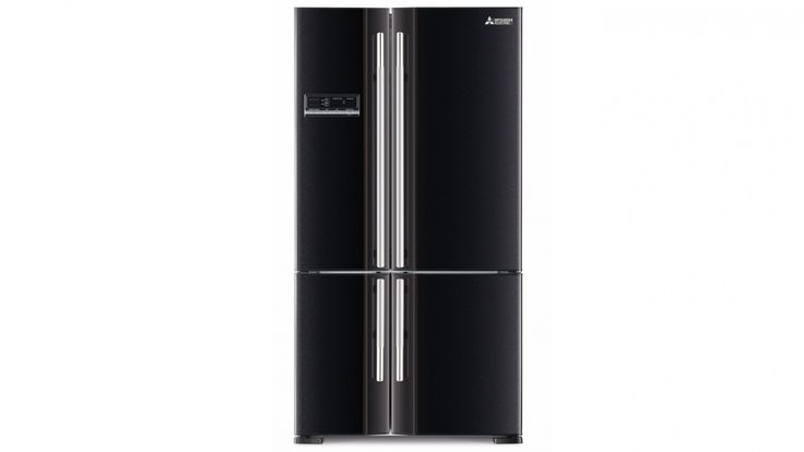 Mitsubishi MR-L710E Grande French Door Fridge - Black