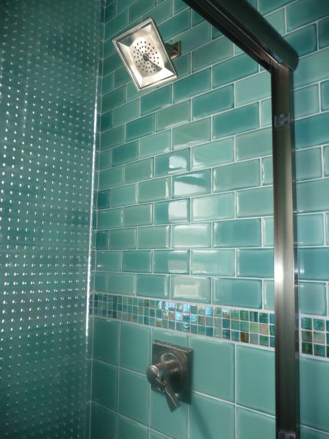 Rate My E Indoor Ocean Feel Bathroom Subway Tile Bathroomssubway Tilesgl