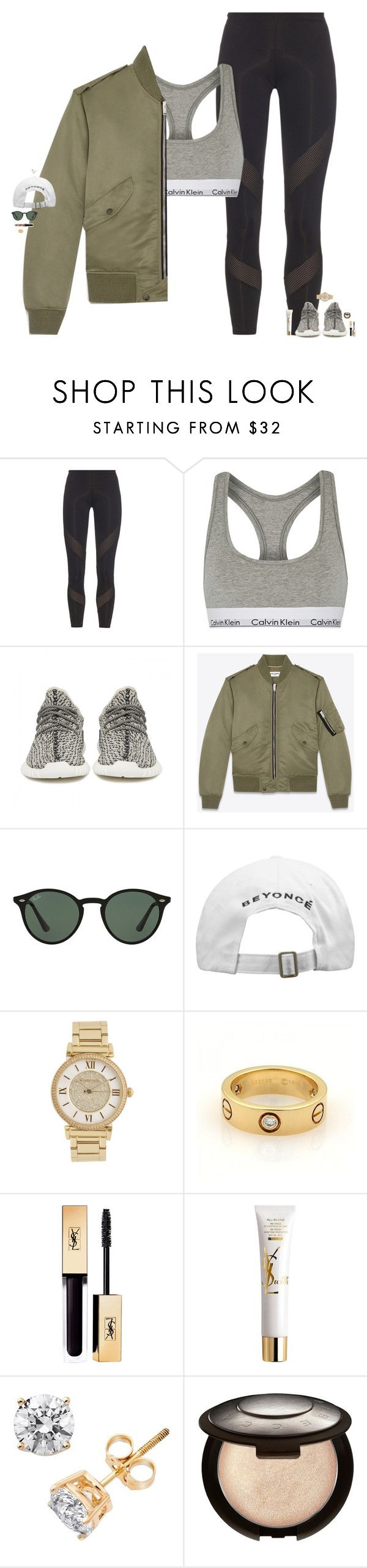"""thanks for 2k babes <3"" by maggie-prep ❤ liked on Polyvore featuring adidas, Calvin Klein Underwear, adidas Originals, Yves Saint Laurent, Ray-Ban, Michael Kors, Cartier, Becca and maggiesbestsets"