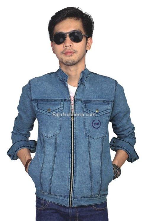 Baju jeans pria CTN 17-634 adalah baju jeans yang bagus nyaman...