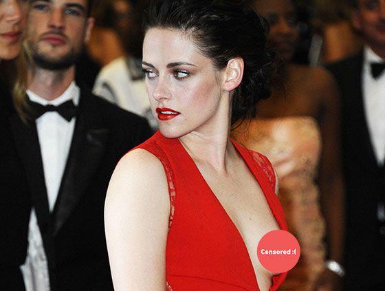 Celebrity Nip Slips on Red Carpet, Wardrobe Malfunctions ...
