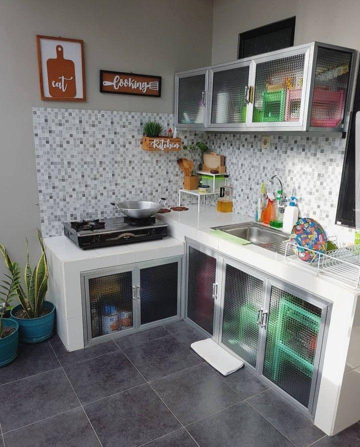 Pin Oleh Erika Galvan Di Kitchen Dapur Kecil Interior Dapur Ide Dapur