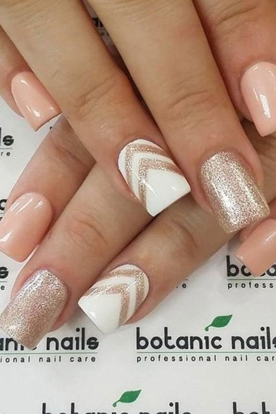 60 Fashion And Beauty Ideas Everyone Should Try In 2017. Light Pink Nail  DesignsSummer ... - Best 25+ Accent Nail Designs Ideas On Pinterest Easy Nail