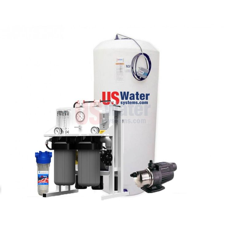 Us Water Professional Grade Whole House Reverse Osmosis System | 2-4 Persons/up To 2.5 Baths