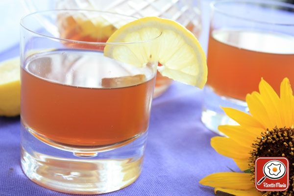 Ricetta Tè freddo al limone