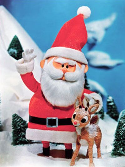 My favorite old time Christmas show.  Rudolf the Red-nosed Reindeer with Burl Ives narrating.