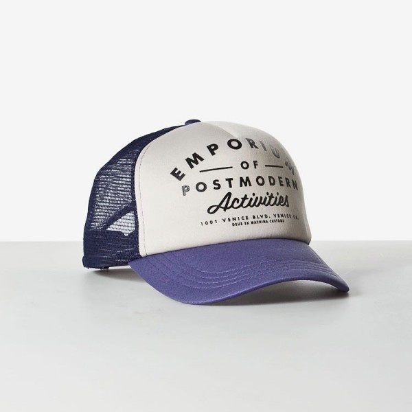 Deus EPA Trucker Hat at Town Moto