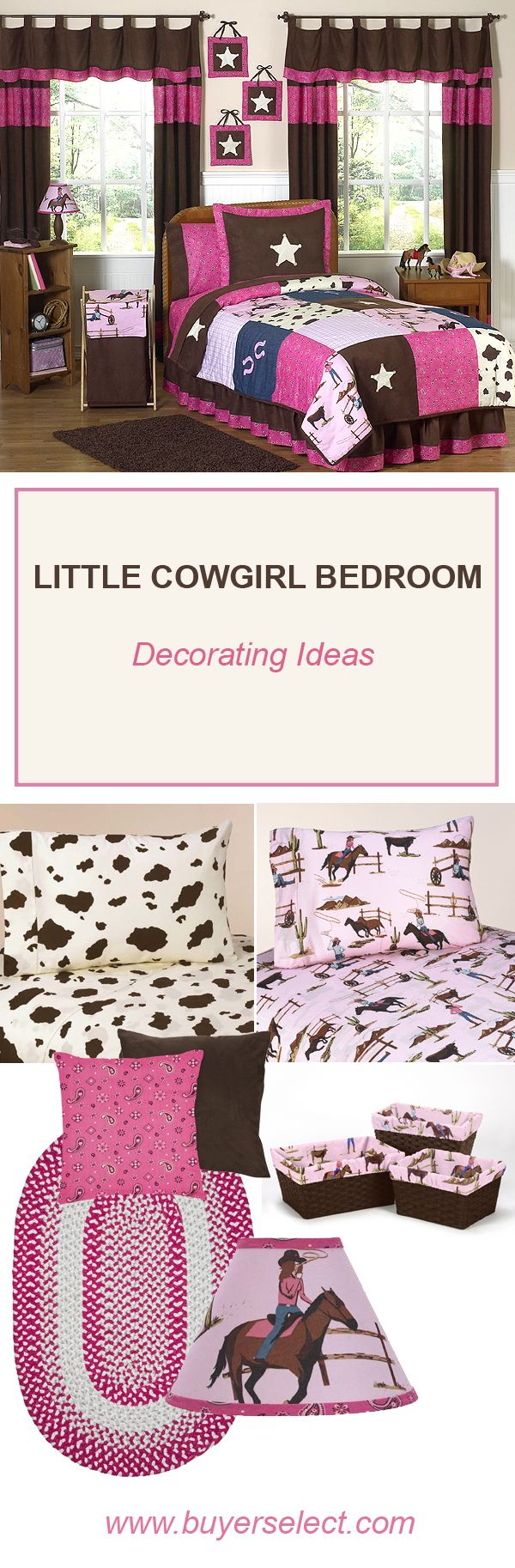 Little Cowgirl Bedding | Cowgirl Room Decor & Decorating Tips