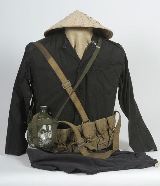 VIET CONG FIELD GEAR | America at War: Vietnam > Uniforms, Equipment, Accoutrements > Other