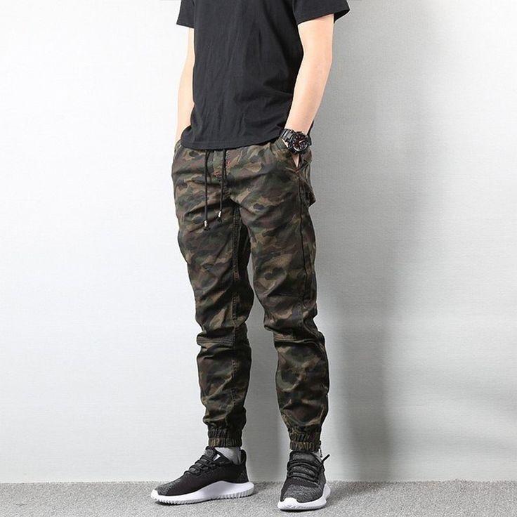 Hip Hop Camo Pants Gaya Model Pakaian Pria Model Pakaian Pria Model Baju Pria
