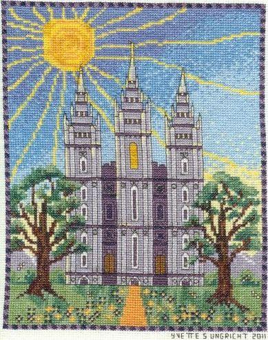LDS Cross Stitch Patterns