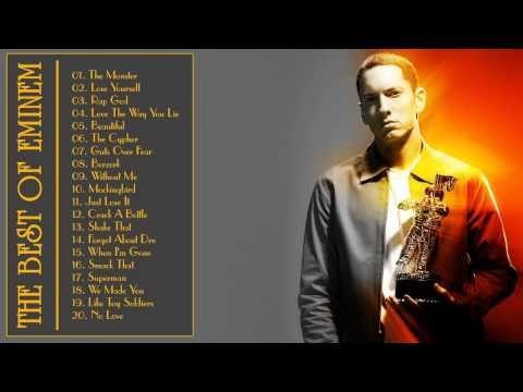 Eminem Greatest Hits 2015 || Best song of Eminem (Full Album)  from youube