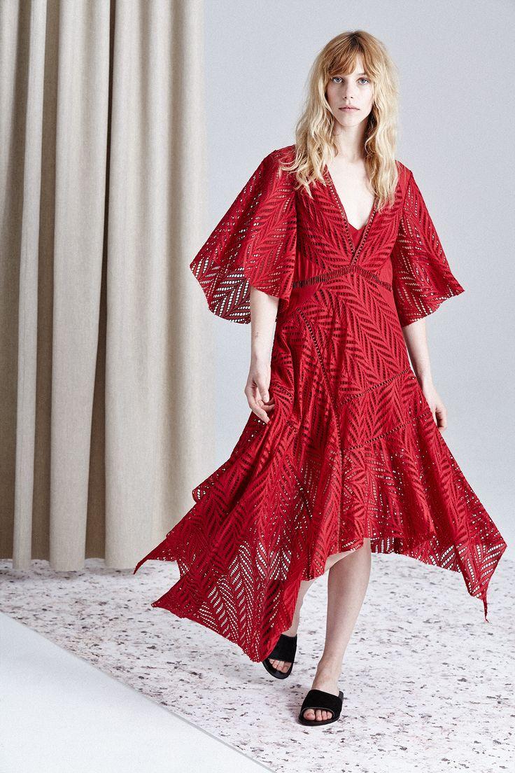 Acler - Langford Dress Crimson