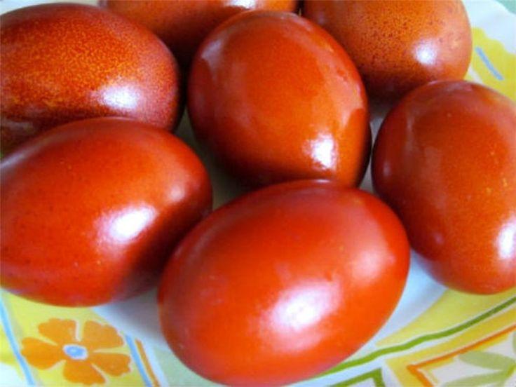 Красим пасхальные яйца без химии! Натуральные красители.