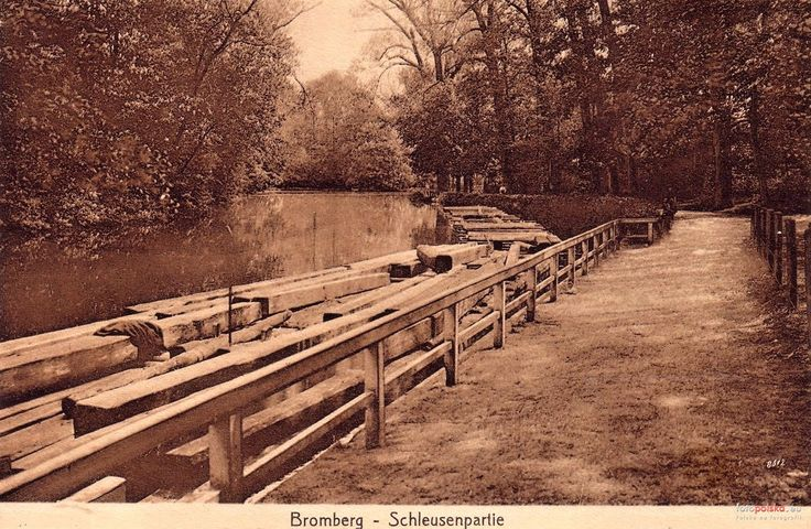 Stary Kanał Bydgoski, Bydgoszcz - 1904 rok, stare zdjęcia