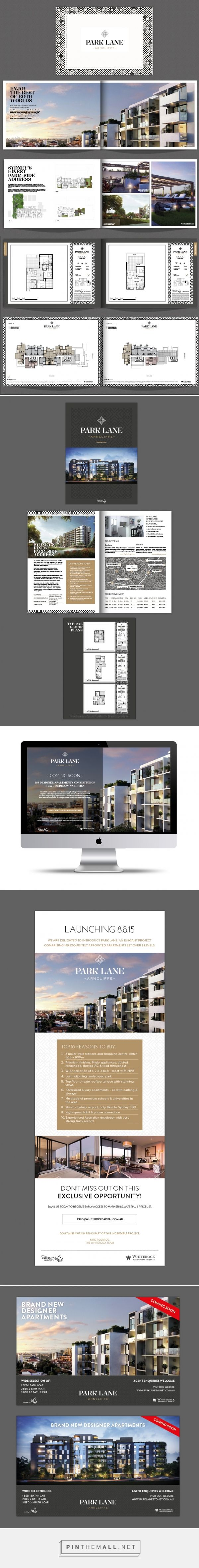 Park Lane - Property Branding on Behance - created via http://pinthemall.net