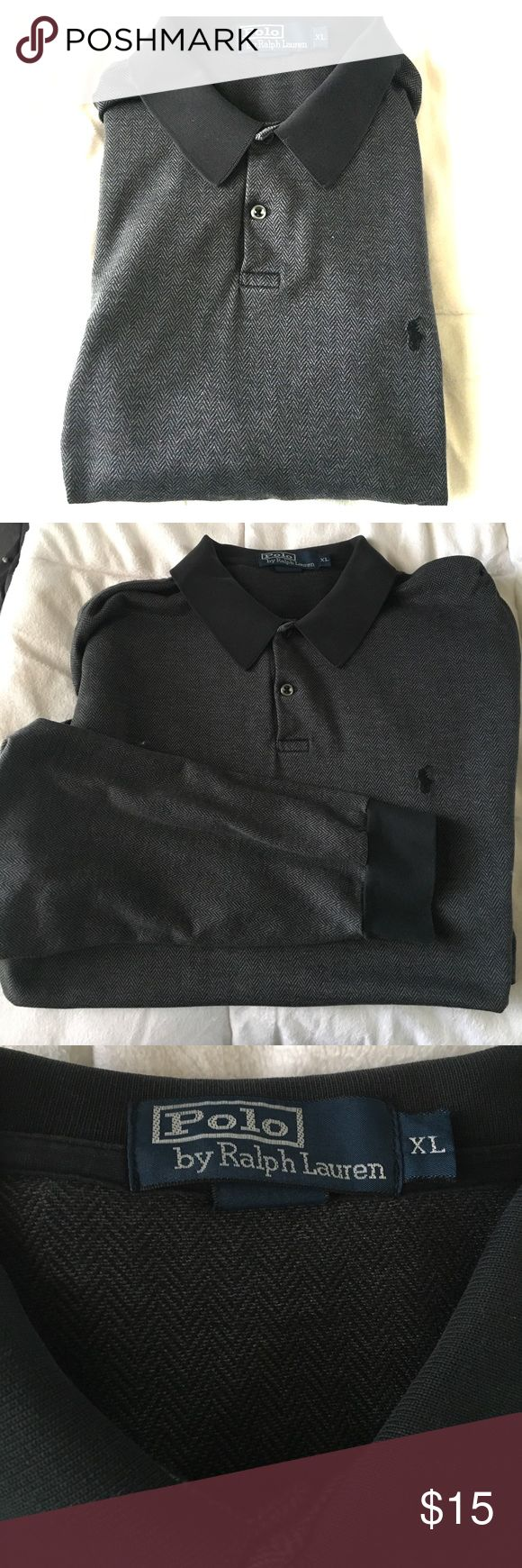 Polo By Ralph Lauren Long Sleeve Ruby Shirt Vintage long sleeve light Ralph Lauren Polo pullover very cool haven't seen another one of these in a while Polo by Ralph Lauren Shirts Tees - Long Sleeve
